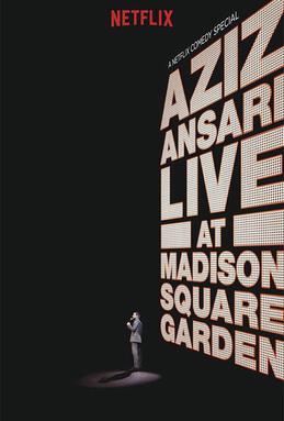 Poster do filme Aziz Ansari Live at Madison Square Garden