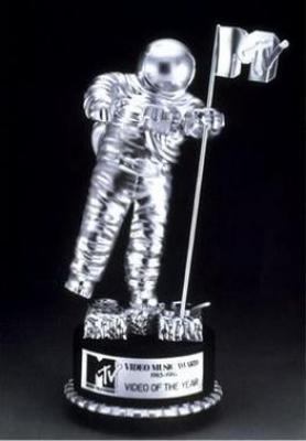 MTV Moon Man Award 1984 Let's Not Get Carried Away