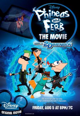 Phineas and Ferb The Movie: Across the 2nd Dim...