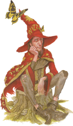 Rincewind as illustrated by Paul Kidby in The ...