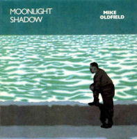 Copertina del singolo Moonlight Shadow di Mike Oldfield