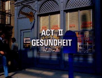Act II Running Gag