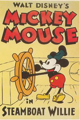 Steamboat Willie Mickey Mouse