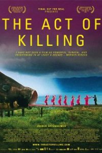 Poster for 2013 documentary The Act of Killing