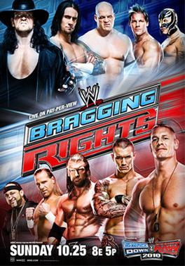 Promotional poster featuring various WWE Super...