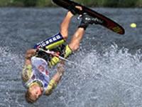 Water Skiing on Lake Viared