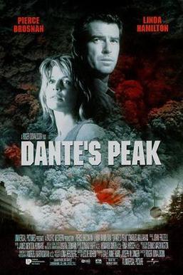 Film poster for Dante's Peak