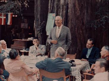 Bohemian Grove, 1967 w/Reagan and Nixon