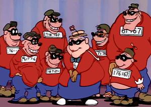 Beagle Boys. CC Wikipedia