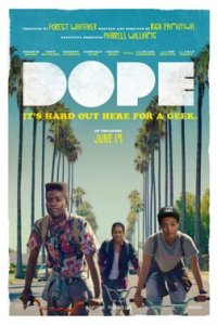 Poster for 2015 crime dramedy Dope