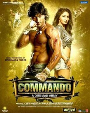 Commando (2013) Worldfree4u - 450MB 720P BrRip Hindi Movie ESubs – HEVC