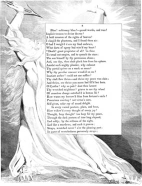 A William Blake illustration for Edward Young'...