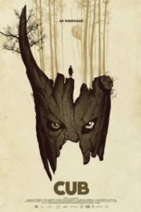 Poster for 2015 horror film Cub