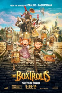 Poster for 2014 animation The Boxtrolls