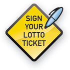 Sign Your Lotto Ticket, As of January 28, 2008...