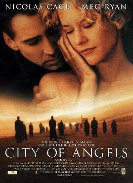 Film poster for City of Angels - Copyright 199...