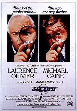 Film poster for Sleuth (1972 film) - Copyright...