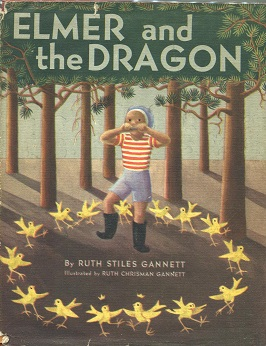 Elmer and the Dragon cover image