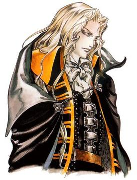 Alucard em Castelvania - Symphony of the Night