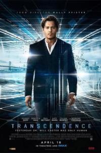 Poster for 2014 sci-fi film Transcendence