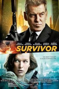Poster for 2015 action thriller Survivor