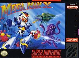 Mega Man X Boxart SNES