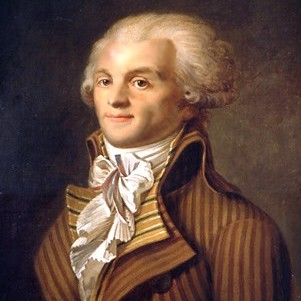 Portrait of Maximilien de Robespierre, oil on ...