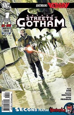 Streets of Gotham #1 cover