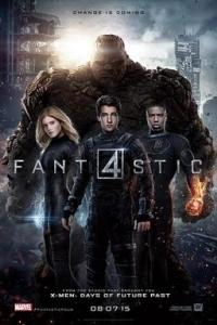Poster for 2015 superhero reboot Fantastic Four