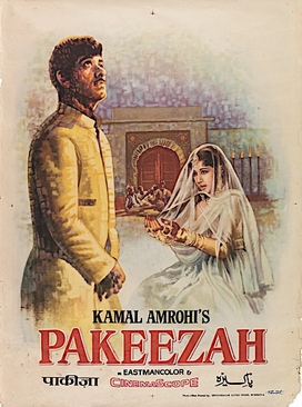 Pakeezah Bollywood film poster