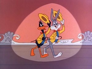 Bugs Bunny and Daffy Duck are some of the char...