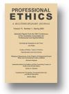 Professional Ethics (journal)