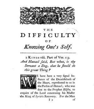 "First page of ""On the Difficulty of Knowi..."