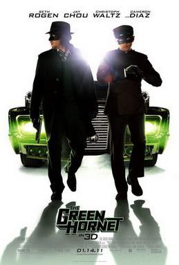 Green Hornet 2011 poster