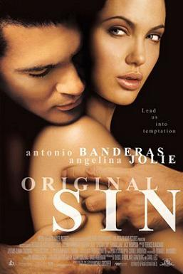 18+ Original Sin (2001) UNRATED 720p BluRay 950MB Hindi Subs