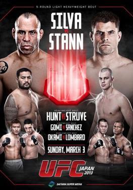 UFC on Fuel TV: Silva vs Stann