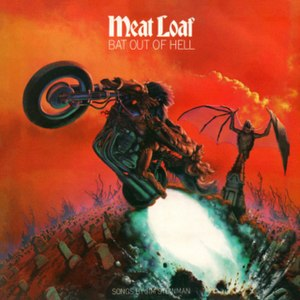 Bat out of Hell a well-known album cover by Ri...