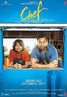 Image result for chef movie poster