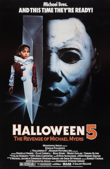 The return of michael myers (1988) region code 1 (usa) on a dark halloween night ten years ago, michael myers brought fear back to his home. Halloween 5 The Revenge Of Michael Myers Wikipedia