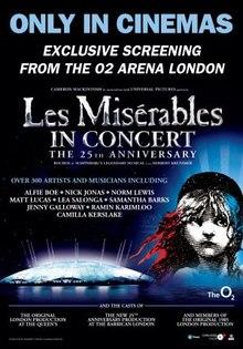 Poster do filme Les Misérables in Concert: The 25th Anniversary