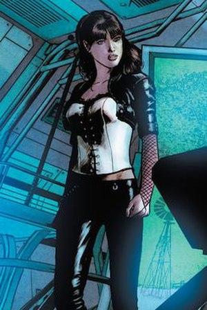 Zatanna's post-Flashpoint costume. Art by Mich...