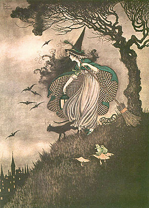 From Elves & Fairies by Ida Rentoul Outhwaite