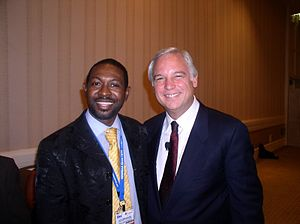 Oyeyemi Olodo and Jack Canfield