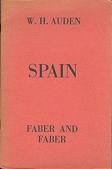 Spain Auden Wikipedia