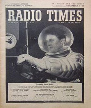 Journey Into Space featured on the cover of th...