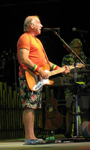 Jimmy Buffett performs during the Summerzcool ...