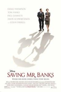 Poster for 2013 biopic Saving Mr Banks