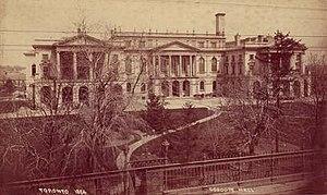 Osgoode Hall, 1884