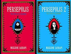 Cover der beiden Persepolisbände