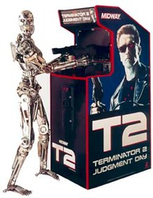 Terminator 2 Judgment Day Arcade Game Wikipedia